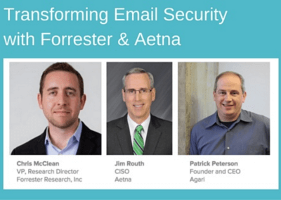 Webinar: Forrester Research and Aetna – Evolution of the CISO's Role
