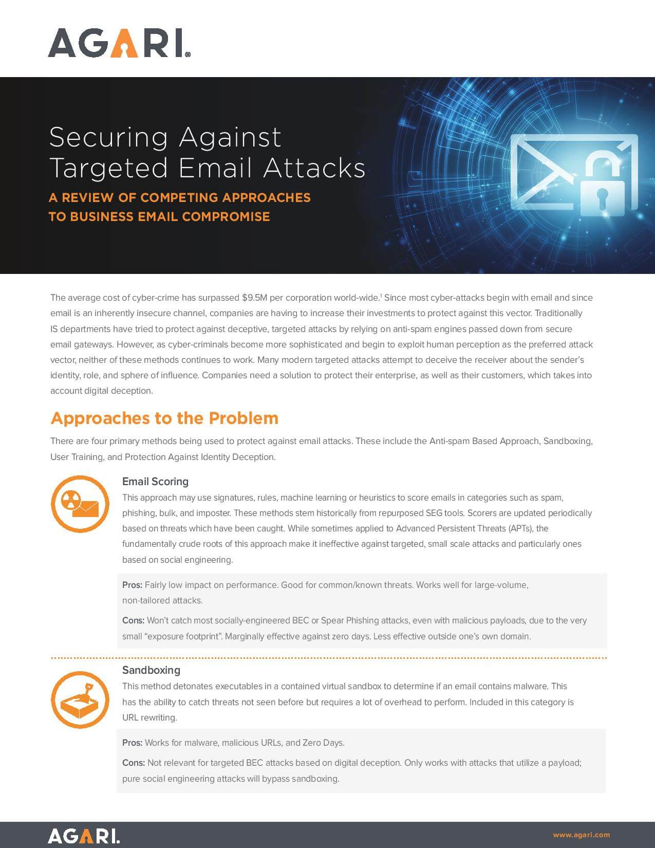 Targeted email attacks