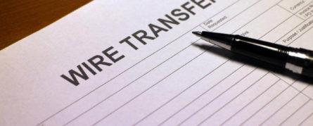 Wire Transfer form
