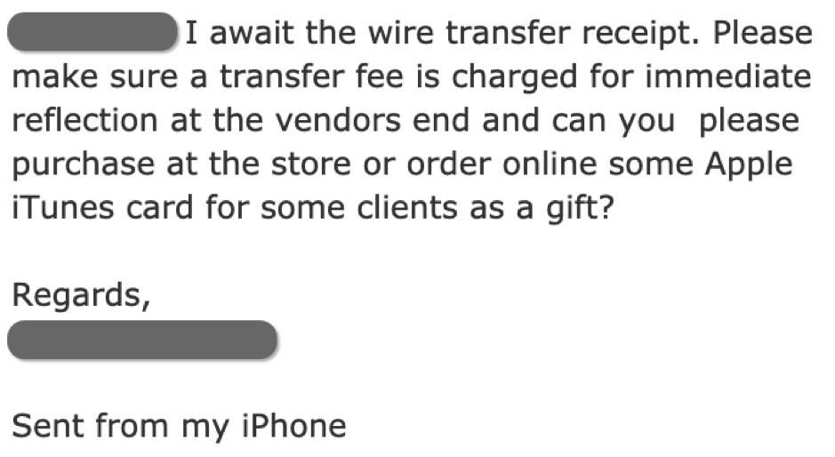 A Look into Gift Card Scams as an Emerging BEC Method