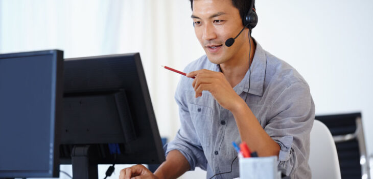 Security Analyst Working In Operations Center